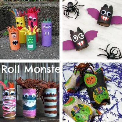 toilet paper roll crafts for halloween