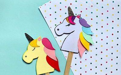 unicorn bookmark craft
