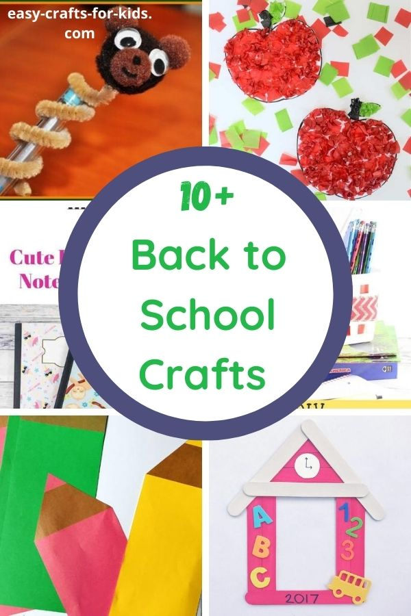 Easy Back to School Crafts for Kids