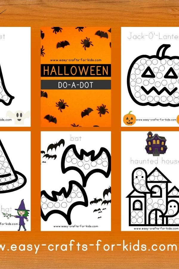 Halloween Dot to Dot Printable