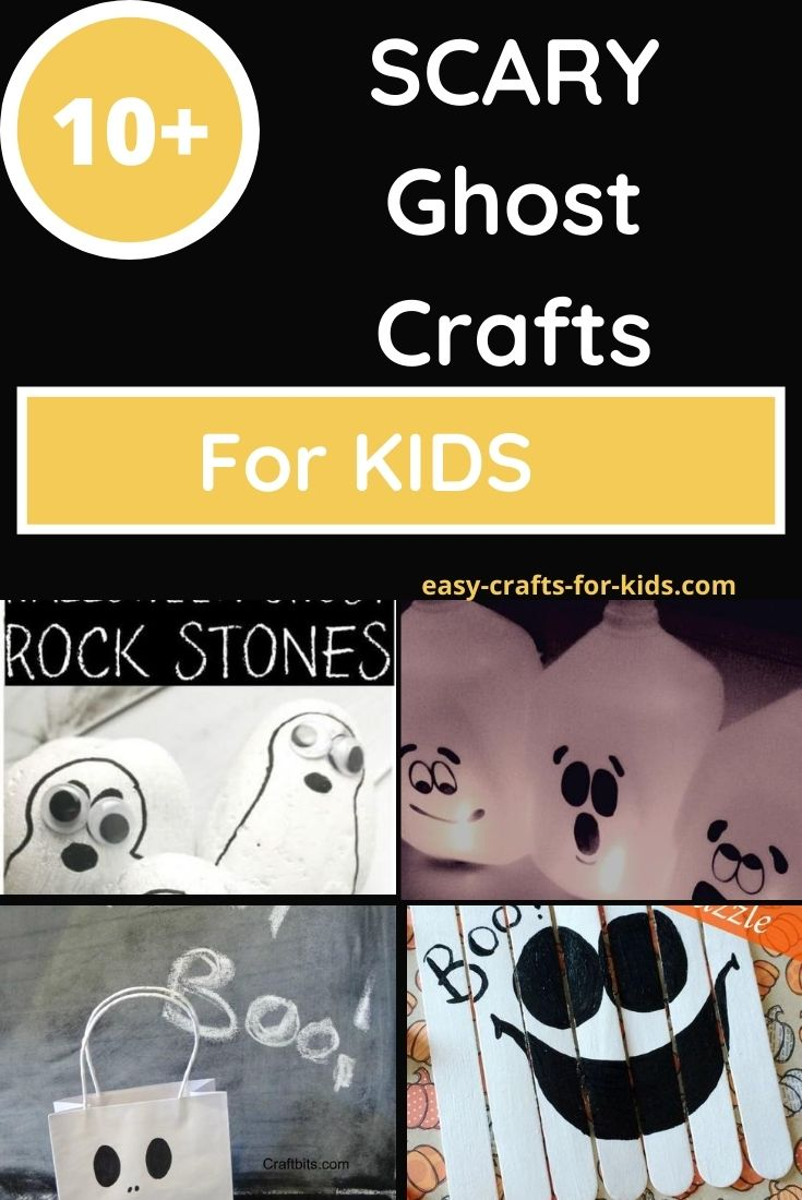best ghost crafts for children