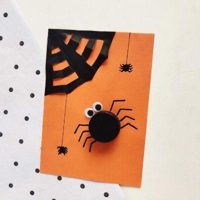 spider craft with cap