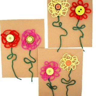 yarn flower craft