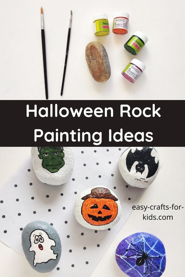 Easy Halloween Rock Painting Ideas
