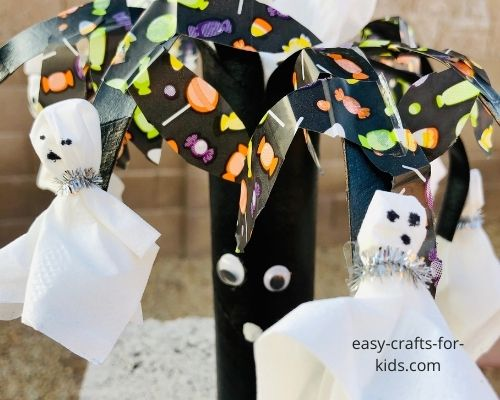 halloween tree crafts for kids
