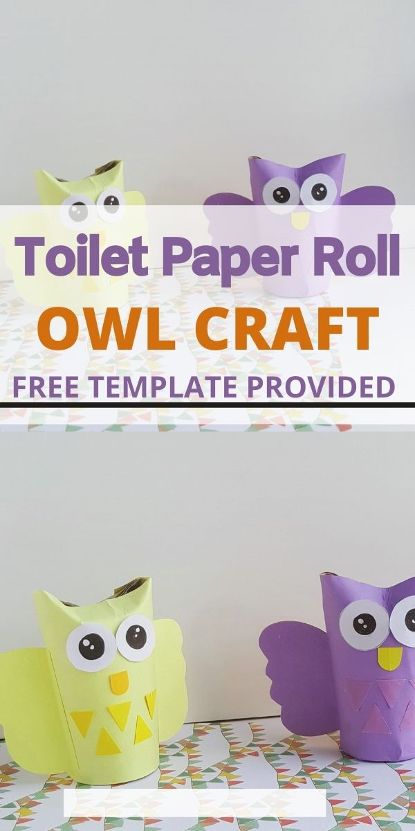 Owl from Toilet Paper Roll