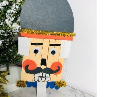 festive nutcracker craft for kids