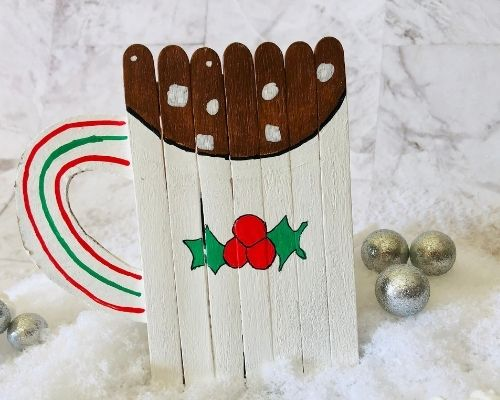 hot cocoa craft for kids