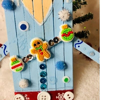 ugly sweater craft for kids