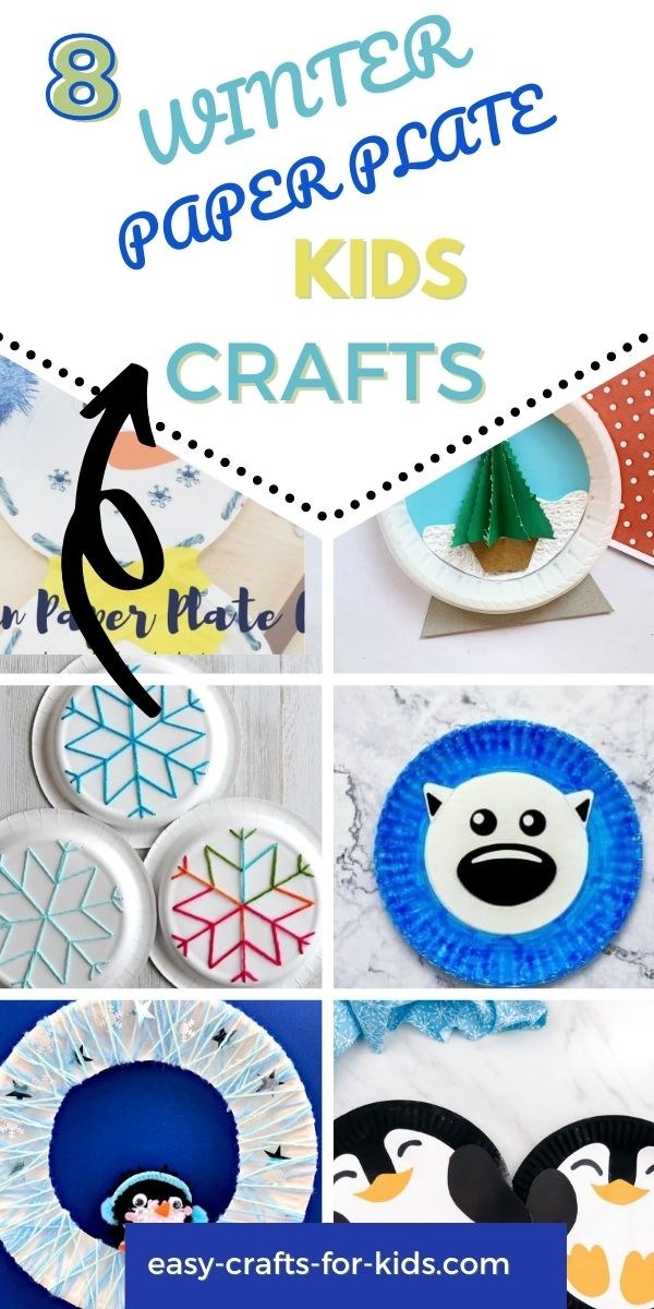 Winter Paper Plate Crafts for Kids