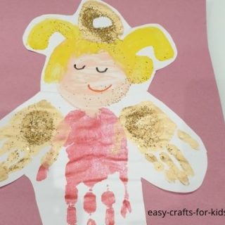 christmas angel craft