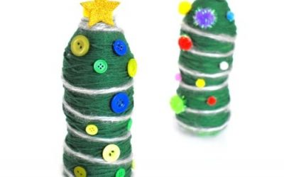 christmas water bottle crafts