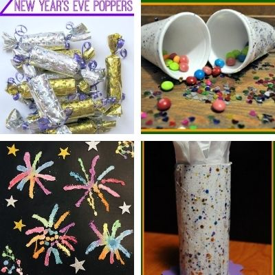 easy new year eve crafts