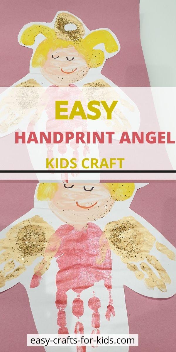 handprint angel craft