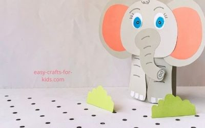 Easy Elephant Craft