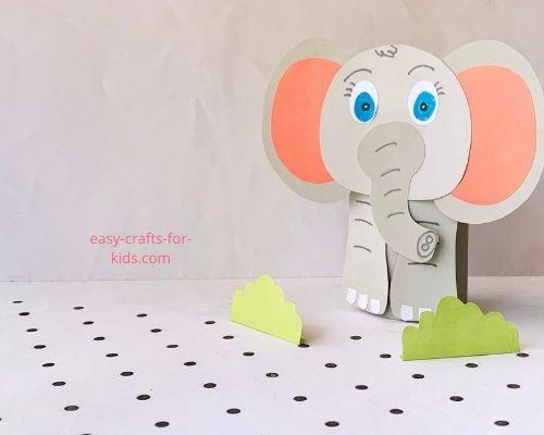 Fácil artesanía de elefante
