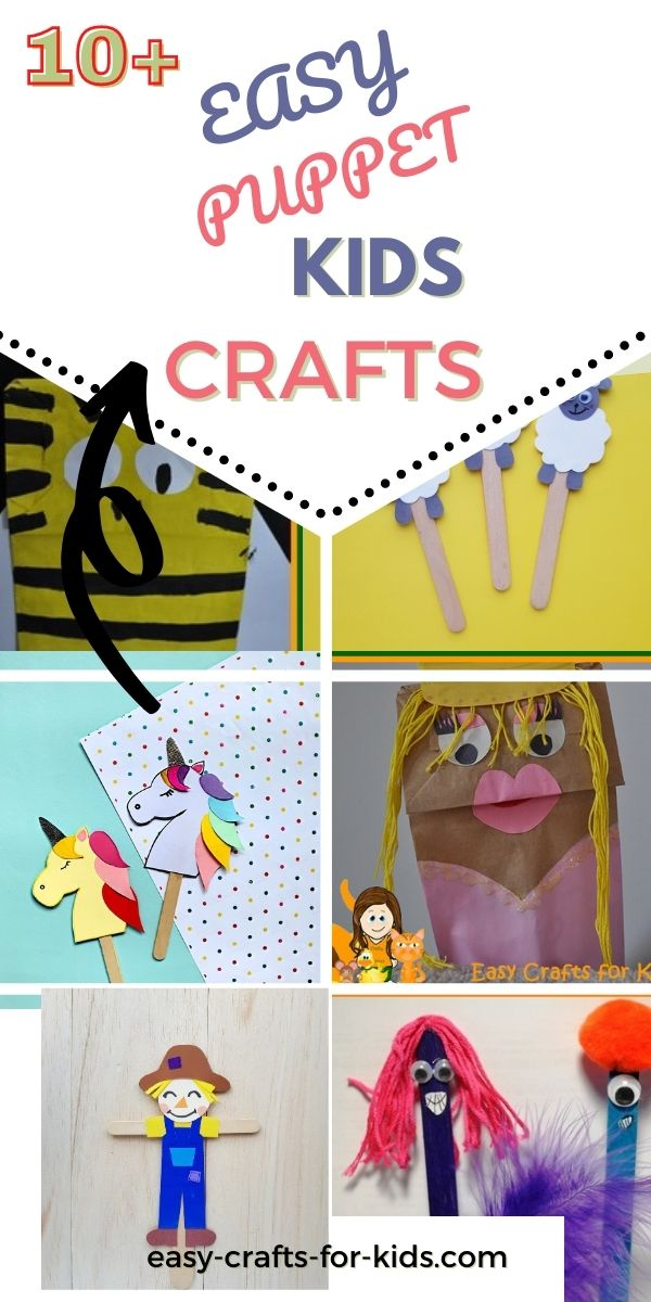 Easy Puppet Crafts for Kids