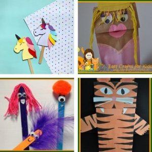 Marioneta fácil para niños