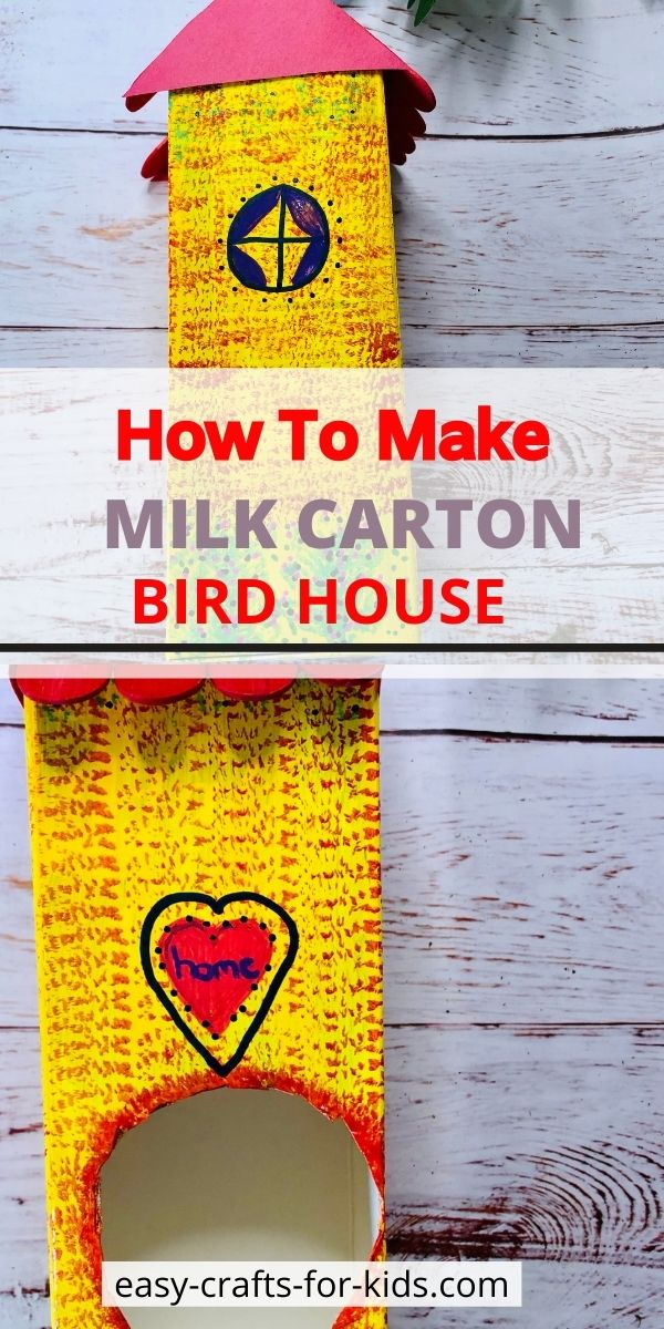 How to Make a Birdhouse from a Milk Carton