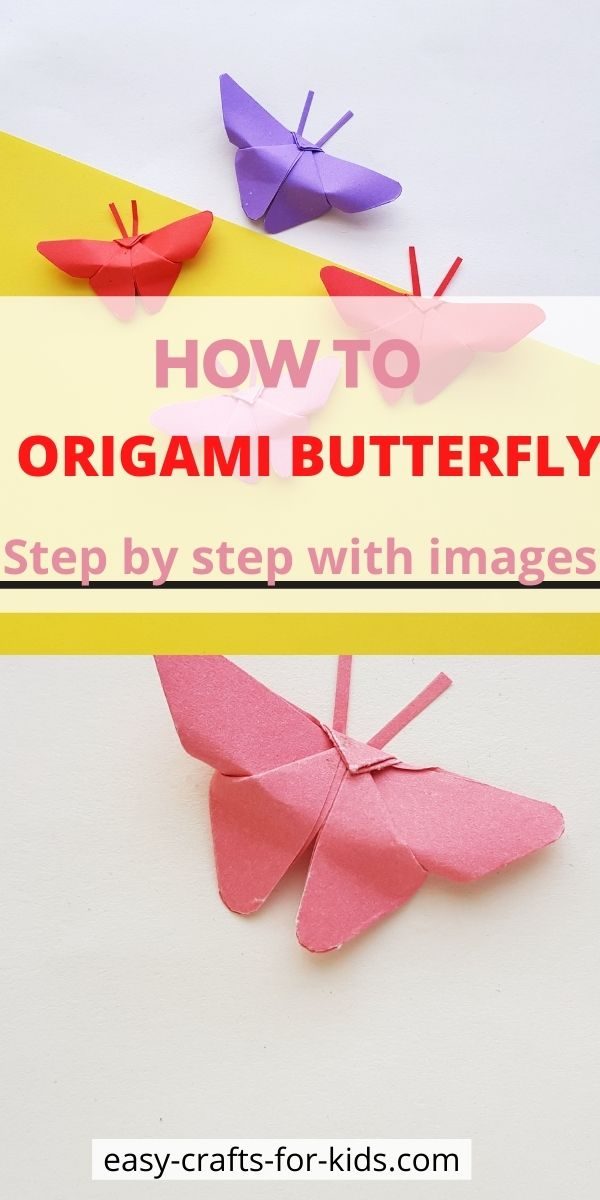 How to Origami Butterfly