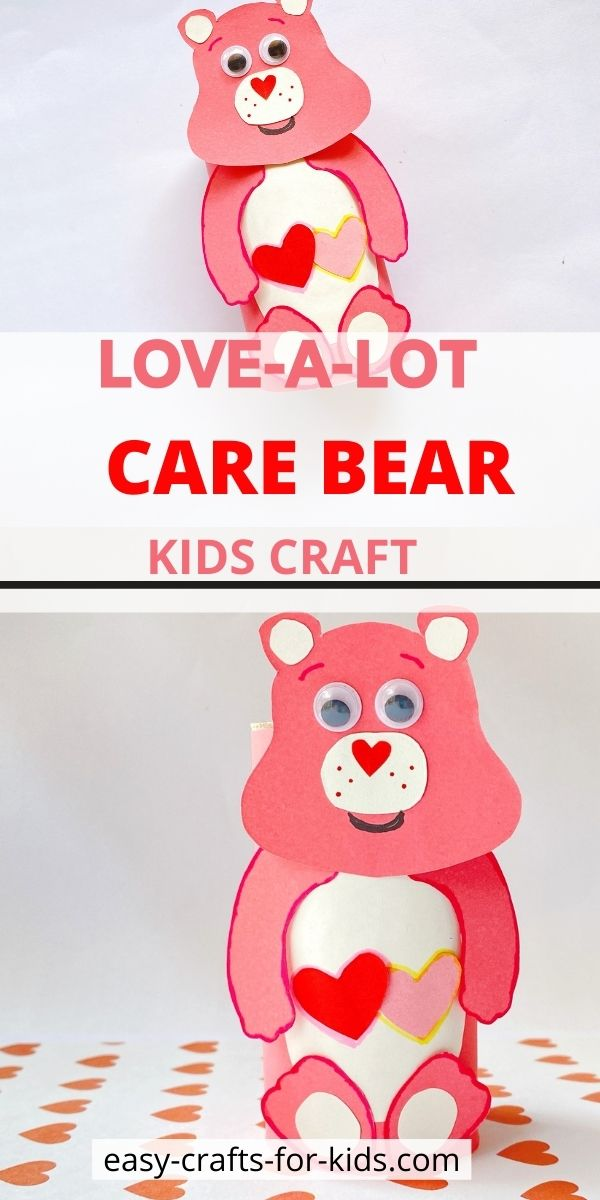 Love-a-Lot Care Bear Crafts