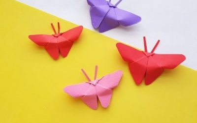Origami Butterfly Craft