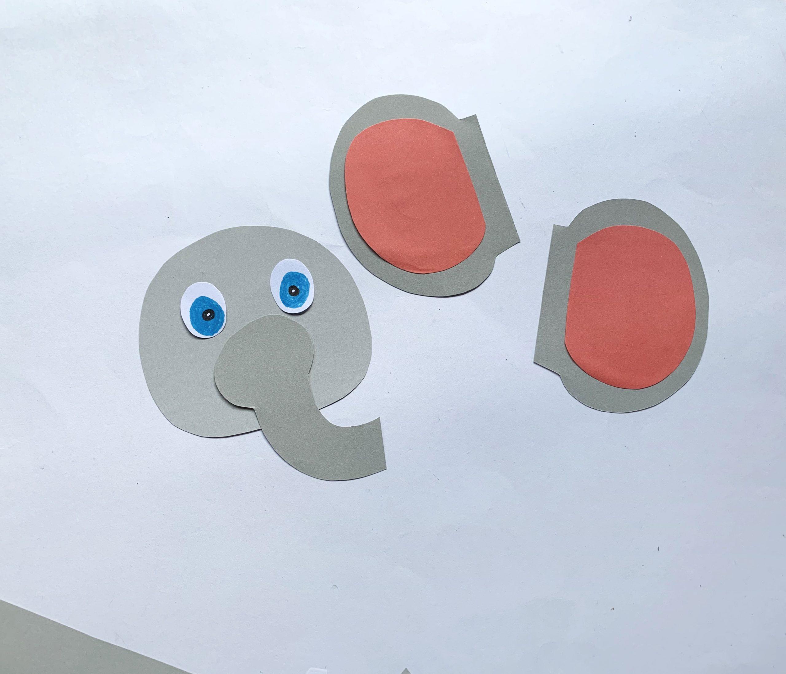 procedimiento artesanal con rollo de papel higiénico elefante