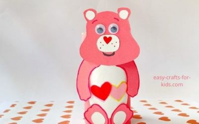 Toilet Paper Roll Love-a-Lot Care Bear Crafts
