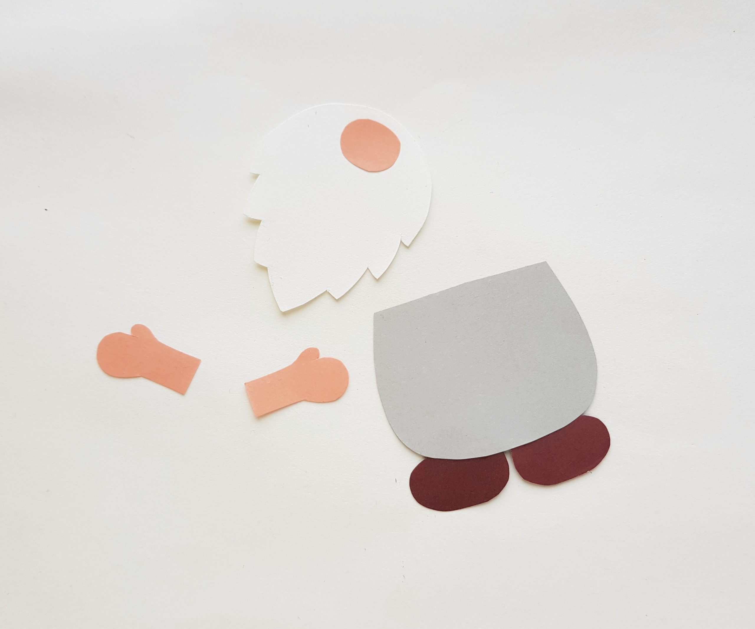 Gnome paper craft step by step