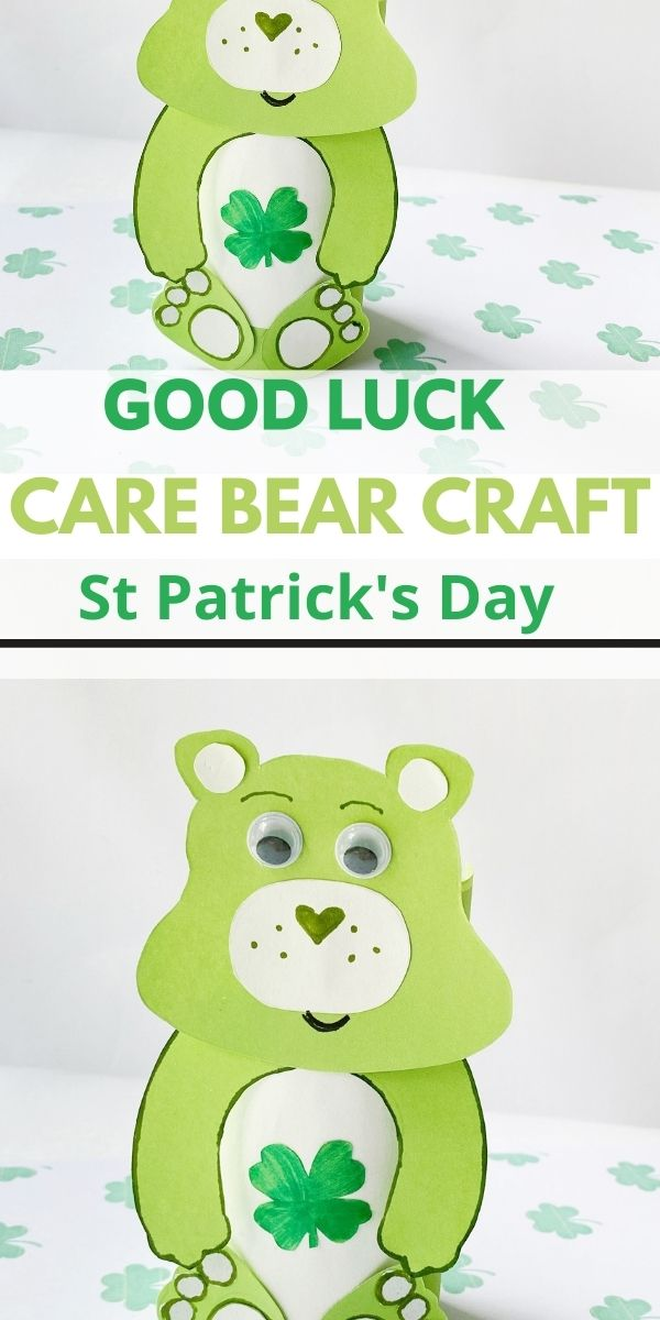 Good Luck Bear Craft