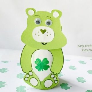 Good luck care bear craft