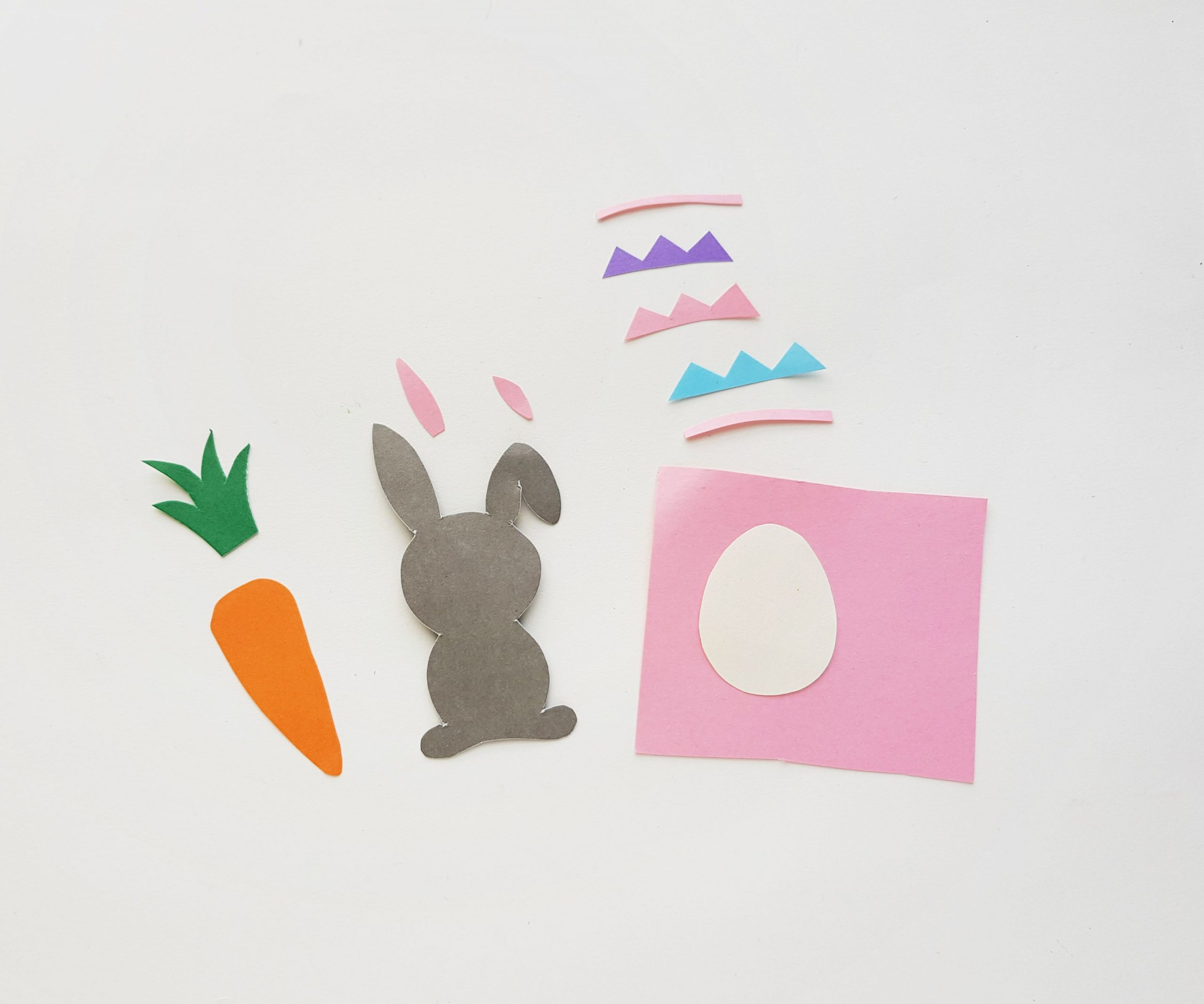 easter scene paper supplies