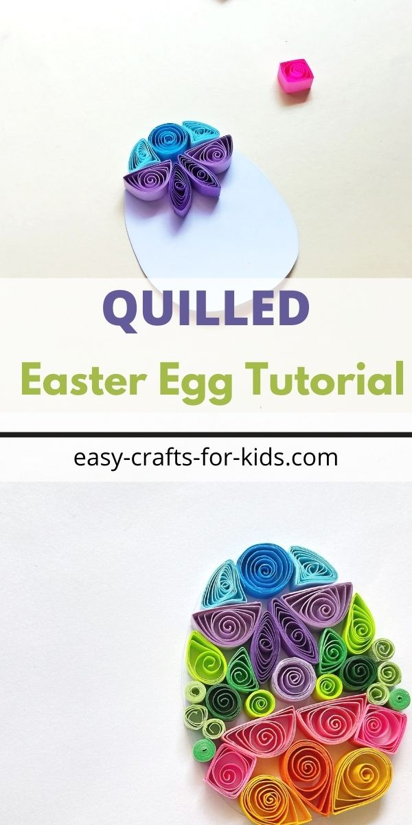 Quilled Easter Egg Tutorial