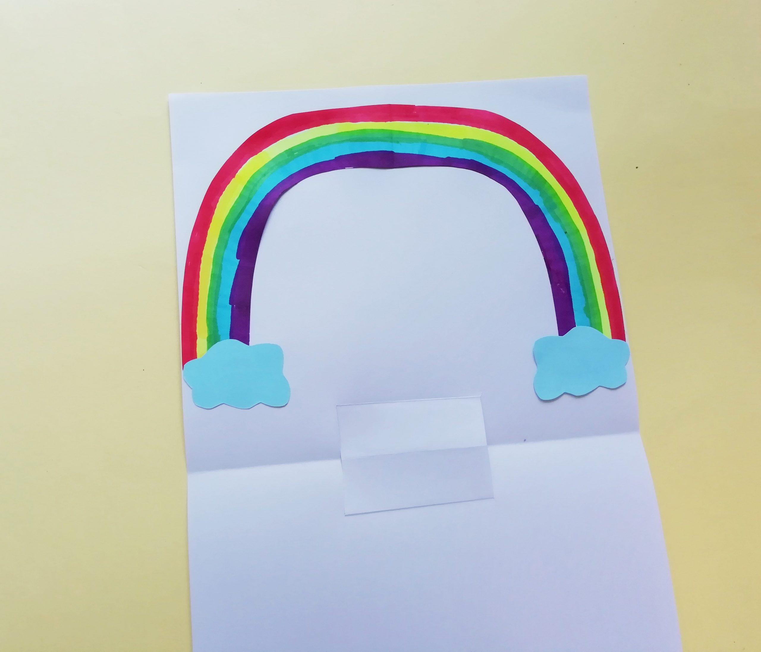 rainbow and cloud craft