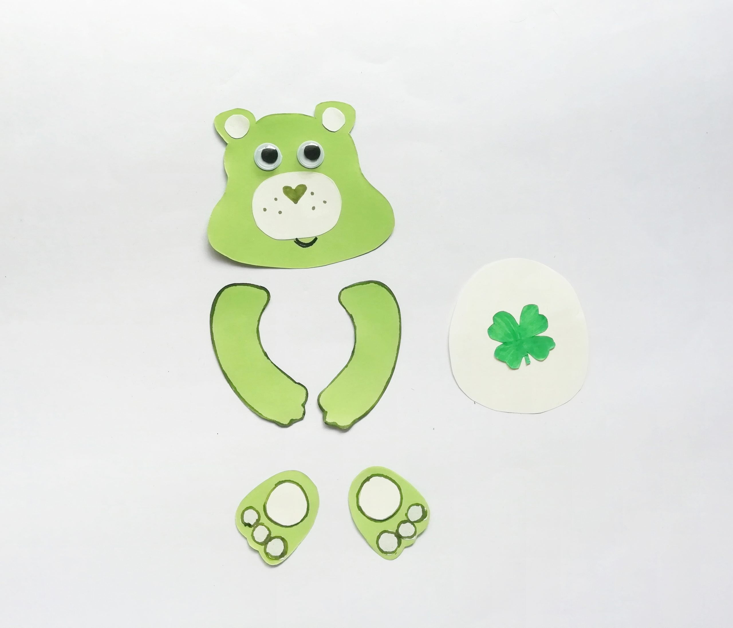 green care bear craft
