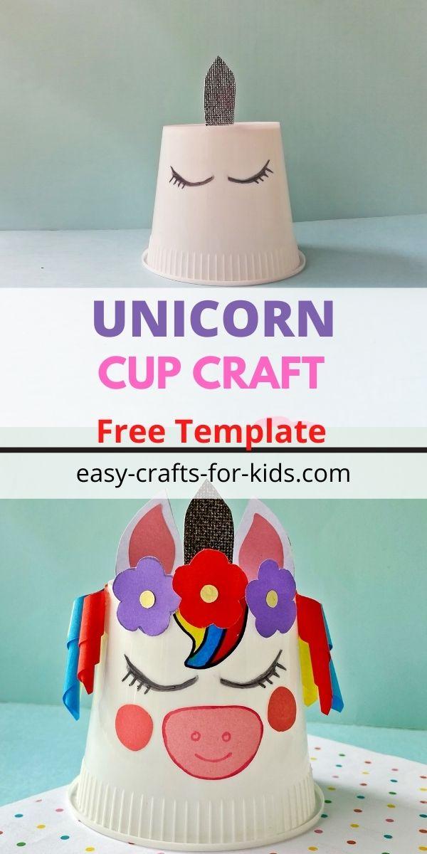 arte de taza de unicornio