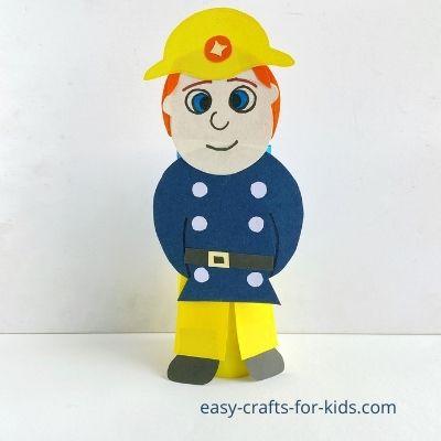 Rollo de papel higiénico Sam el bombero artesanal
