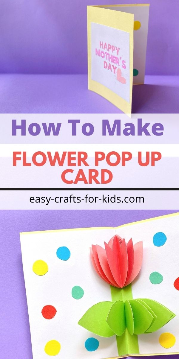How to Make a Pop Up Flower Card