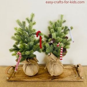 candy cane ornaments for kindergarten