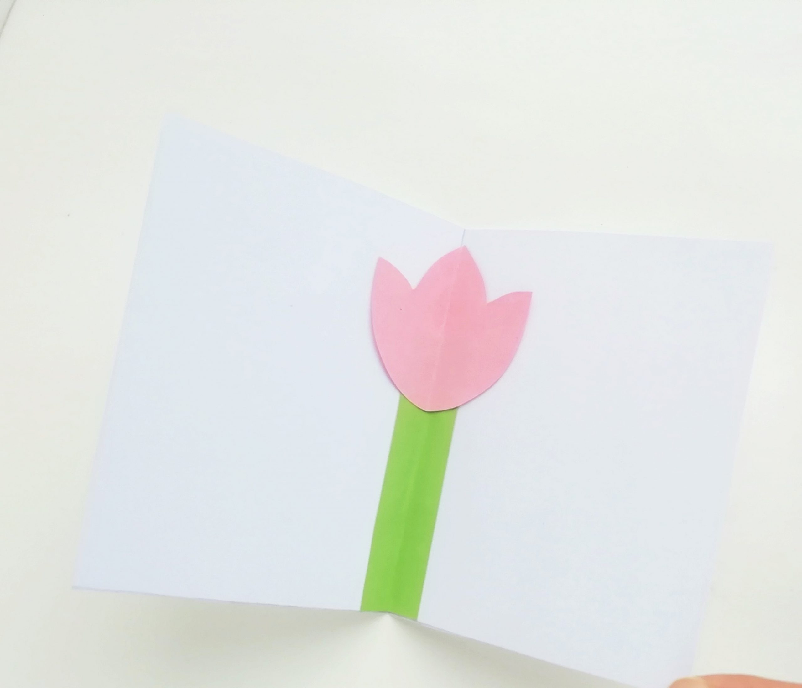 mother's day pop up card diy