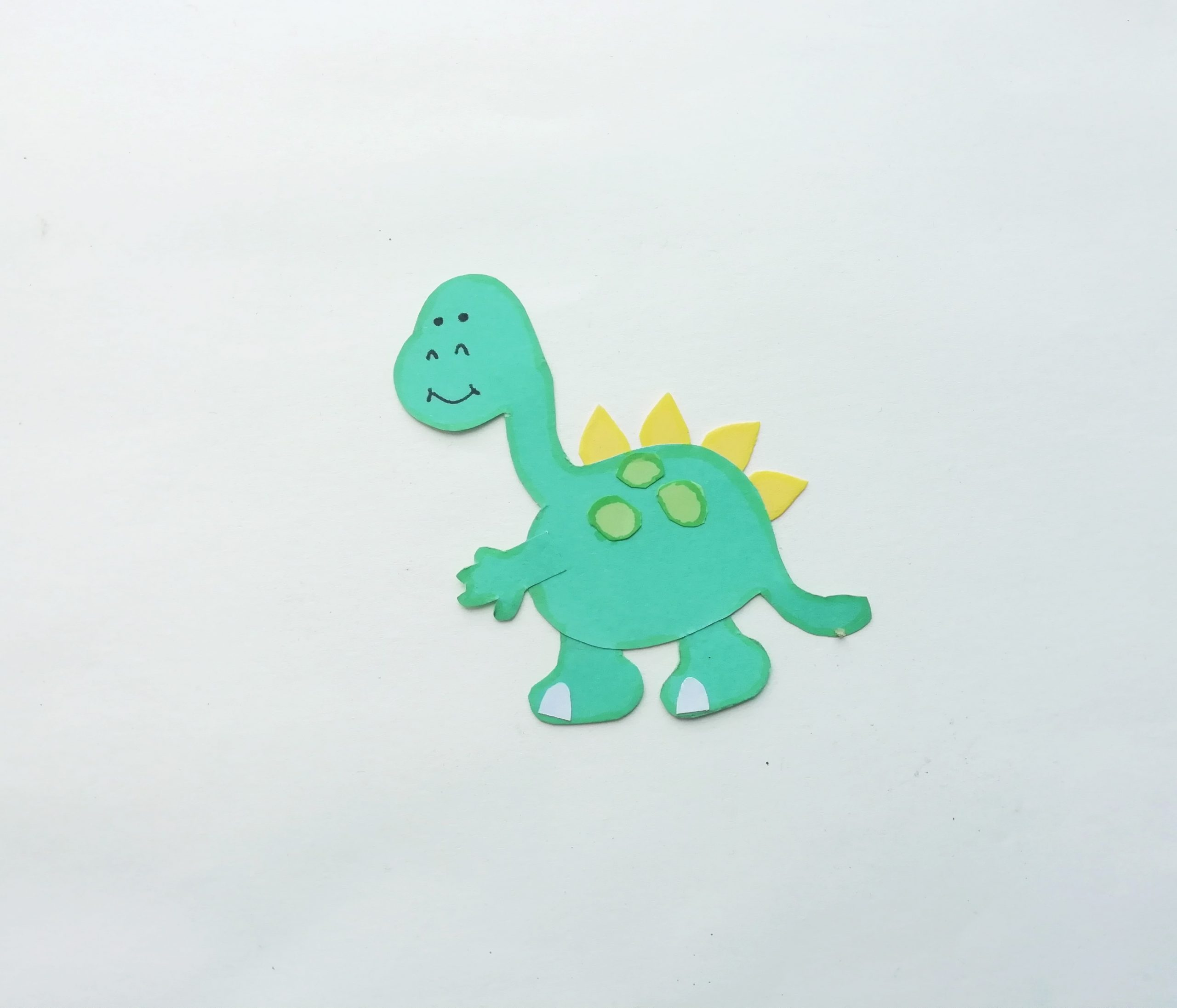 pop up dinosaur card craft