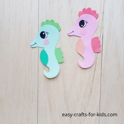 How to Make Seahorse from Paper