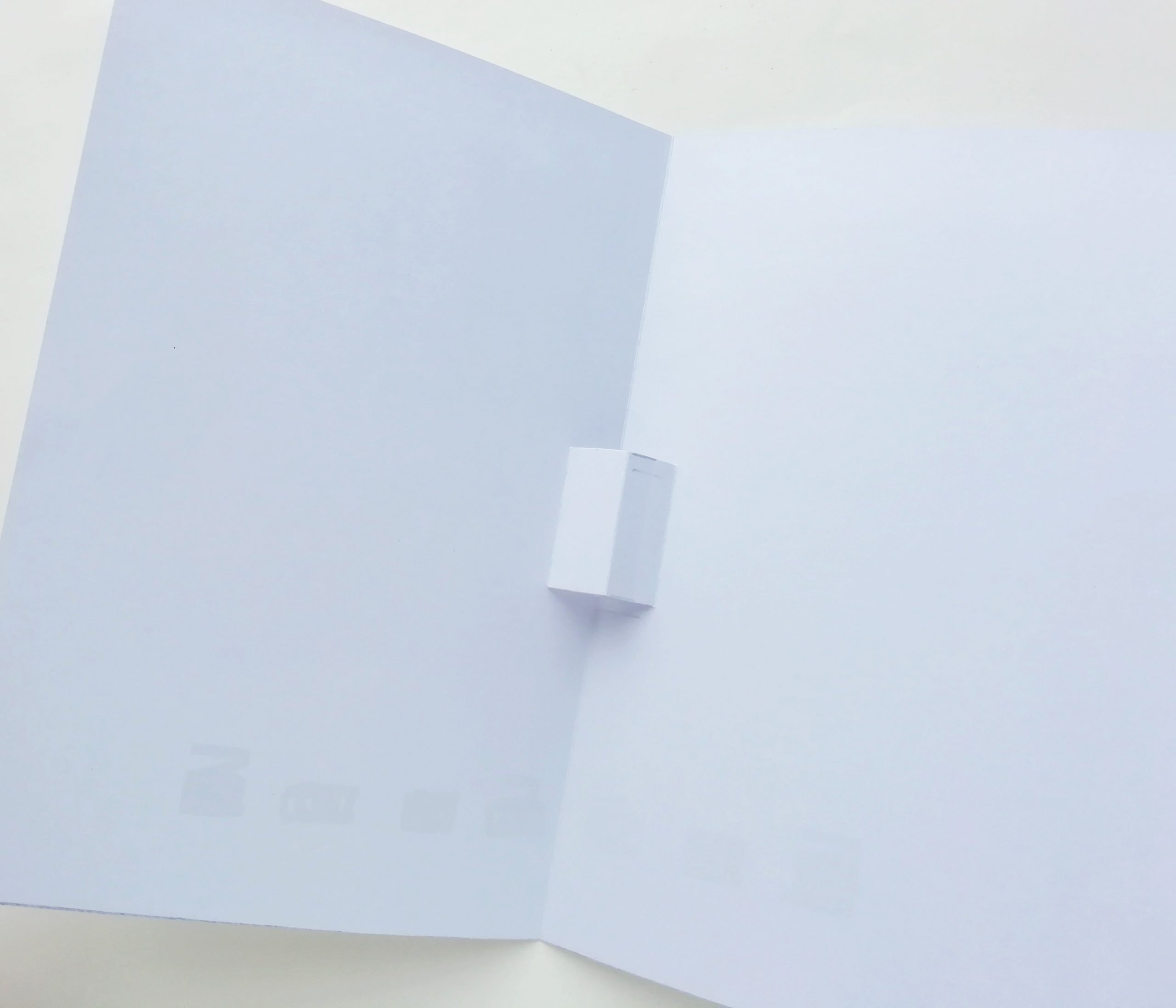 how to make pop up card process