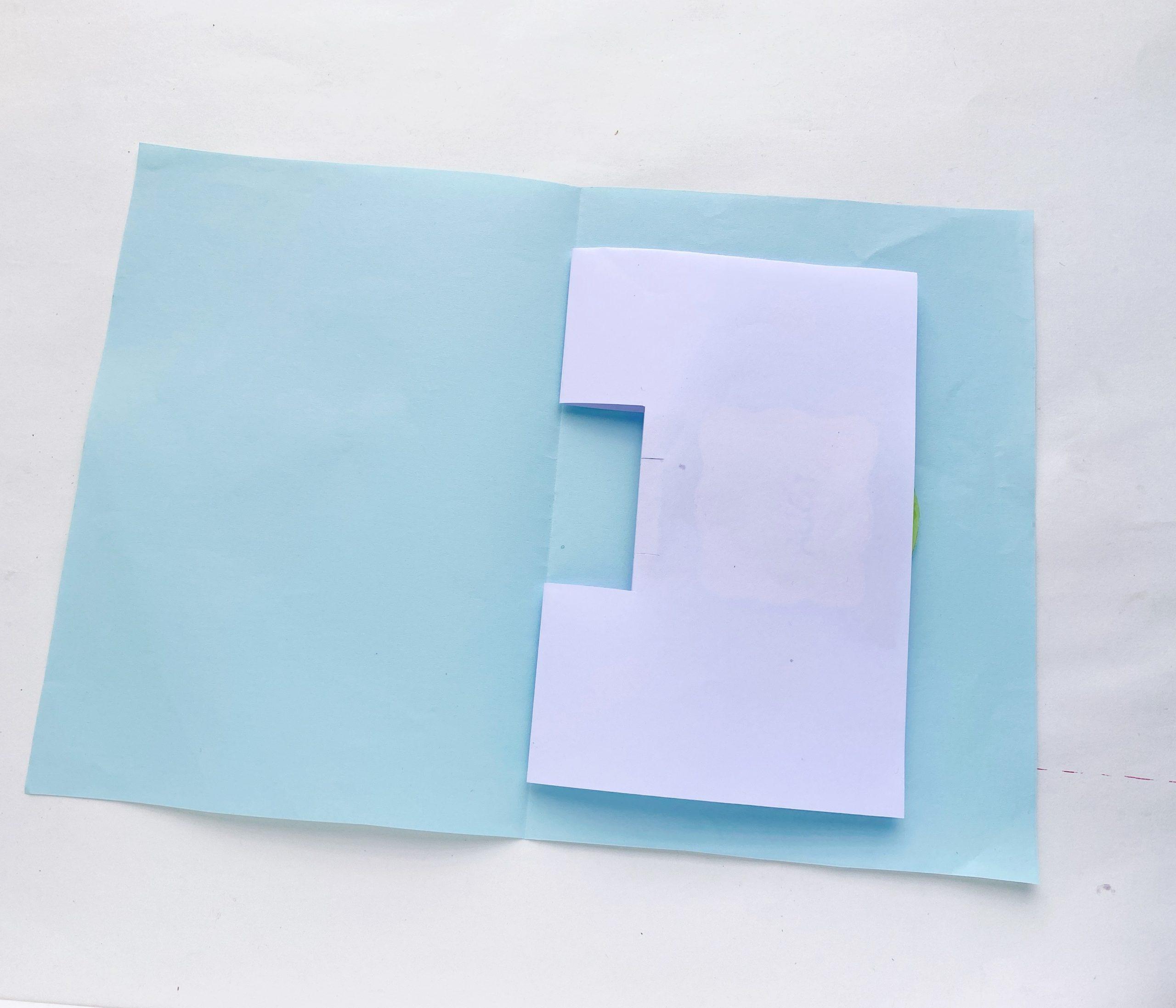 yoda pop up card craft procedure