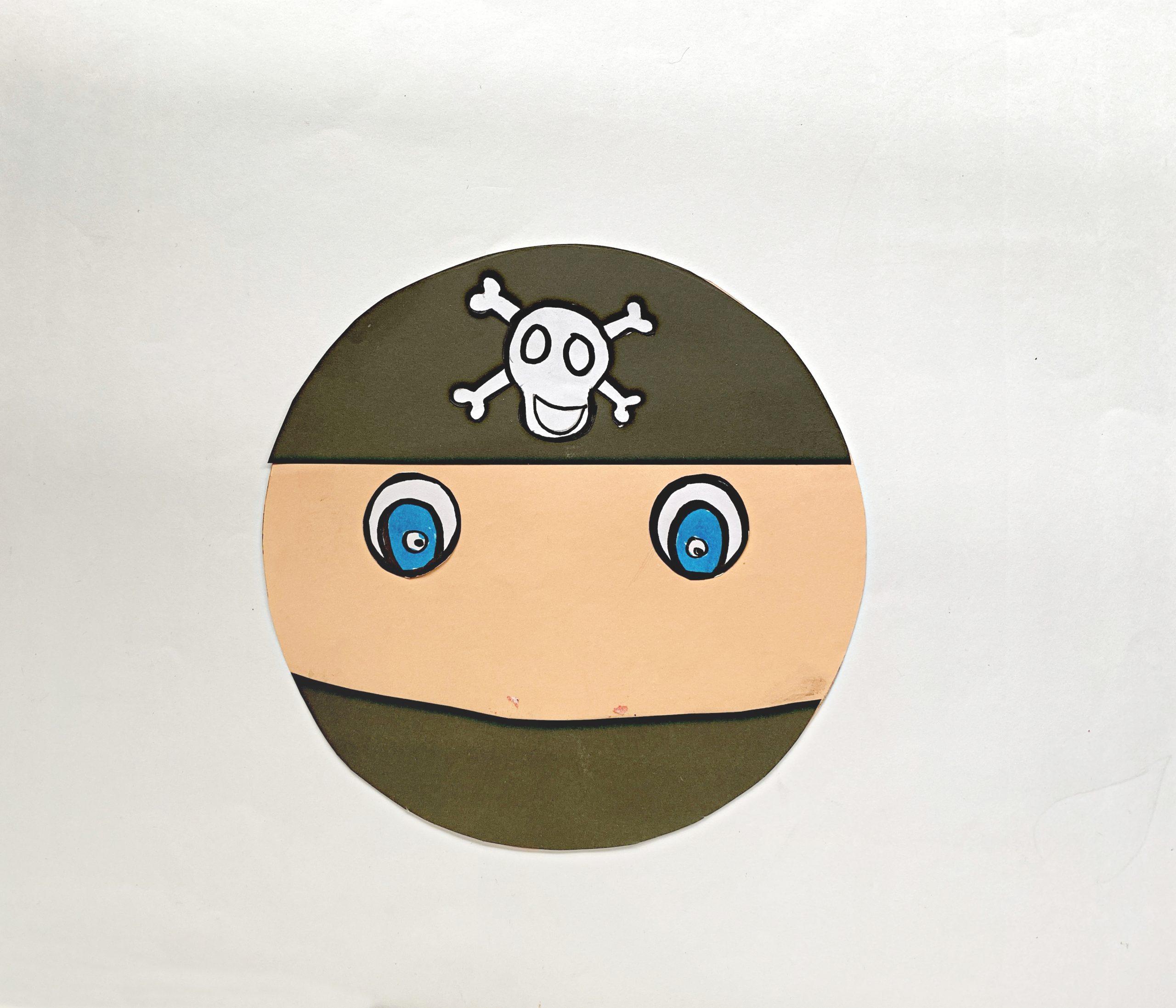 pirate face craft