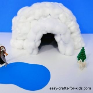 Best igloo ever from tissue box