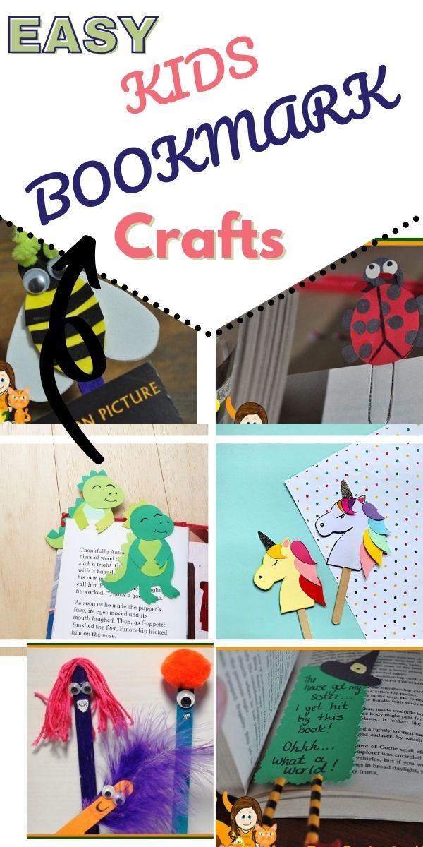 DIY Bookmark Crafts for Kids