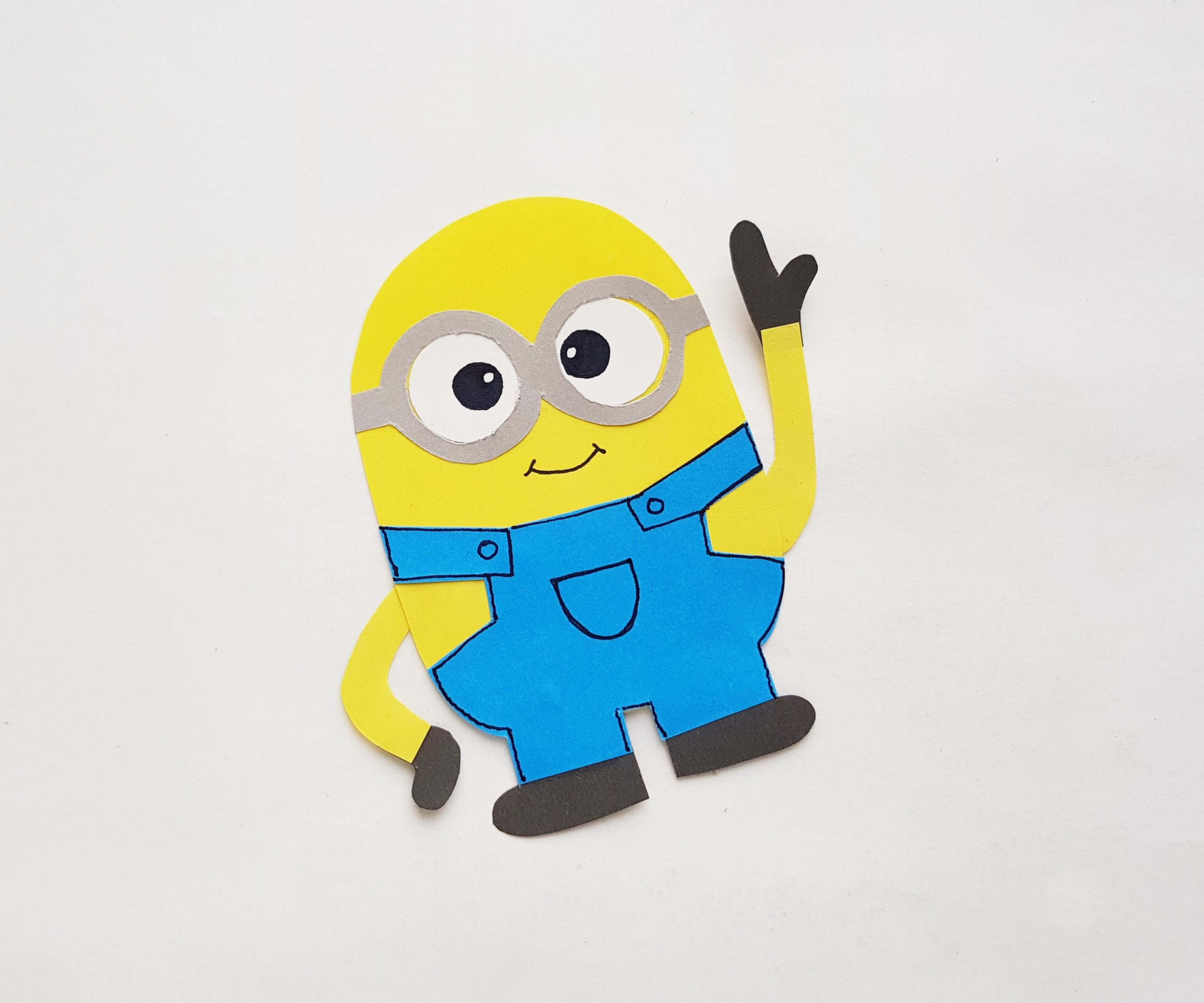 paper minion step by step procedure