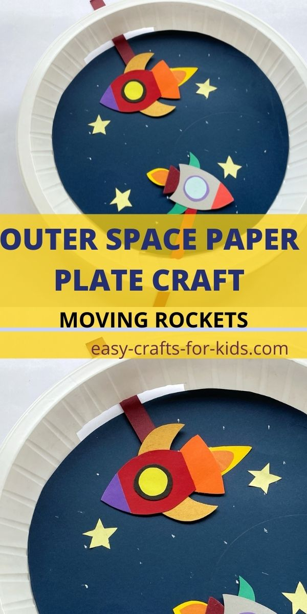 Outer Space Paper Plate Craft