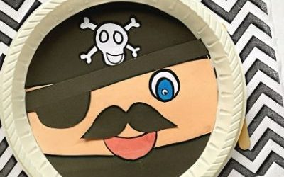 Pirate Craft with Moving Eyepatch